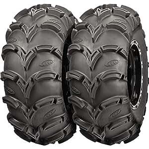 Pair of ITP Mud Lite XL (6ply) ATV Tires 27x10-12 (2)