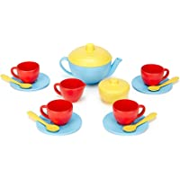 Green Toys Tea Set (Blue/Red/Yellow)