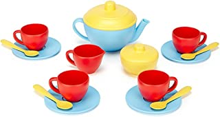 product image for Green Toys Tea Set, Blue/Red/Yellow
