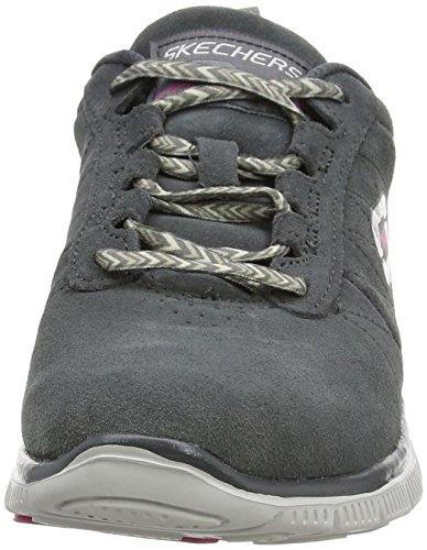 Sneaker Appeal char Flex Way Grigio Donna Skechers nbsp;casual 1RzwZ4
