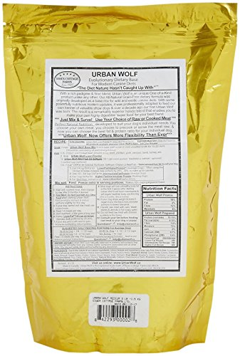 Urban Wolf Dog Food Mix - Dietary Base Mix - 3 Lb by Urban Wolf (Image #1)