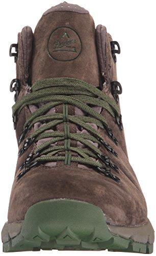 Danner Mens Mountain 4.5 4.5 Chaussures De Randonnée Brun Foncé / Vert