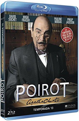 Agatha Christie's Poirot (Season 13) - 2-Disc Set ( Agatha Christie's Poirot - Season Thirteen ) [ Blu-Ray, Reg.A/B/C Import - Spain ]