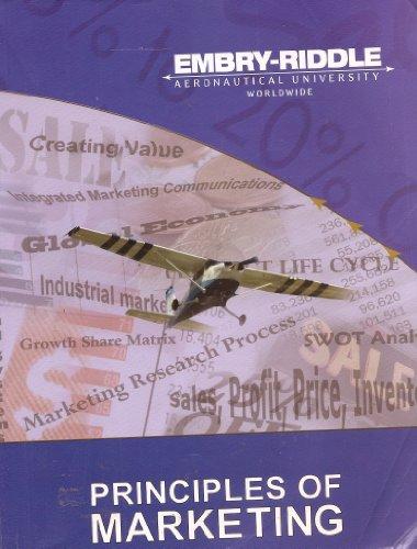 Principles of Marketing Embry-Riddle Aeronautical University Worldwide