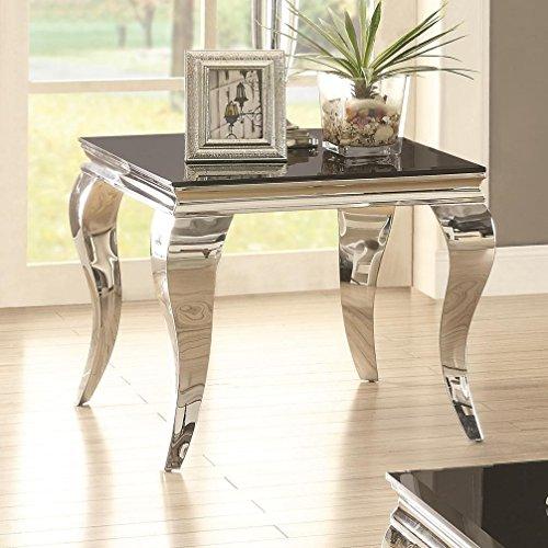 Coaster Home Furnishings 705017 End Table, Black ()
