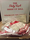 Shirley Temple Dress Up Doll Outfit - Stand Up & Cheer