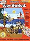 Hooked on Phonics Kindergarten Super Workbook, Sandviks HOP, Inc. Staff, 1601439598