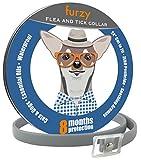 furzy Flea Collar Dogs Cats | Universal Fit | 100% Natural Essential Oil Formula | Zero Pesticide | Pet People Safe | Waterproof | 24