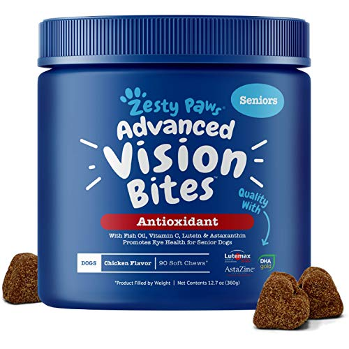Zesty Paws Eye Supplement for Dogs