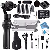 DJI Osmo+ Handheld Gimbal with 4K Zoom Camera CP.ZM.000425 + DJI M-15 FlexiMic + DJI Osmo Intelligent Battery (High Capacity) + DJI Osmo Quad Charging System + DJI Osmo 57W Power Adapter Bundle