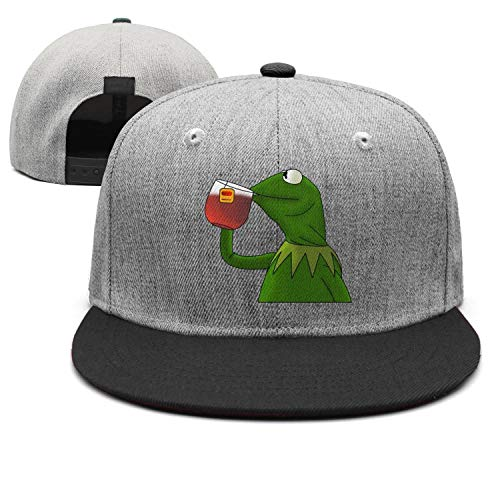Frog Trucker Hat - Kermit-The-Frog- Truckers Caps Adjustable Baseball Hat for Womens Mens Snapback Hats Vintage
