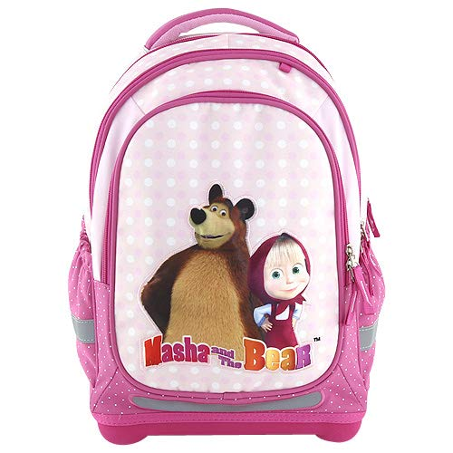 Target Backpack Superlight Masha and The Bear 17639, Multi Colour