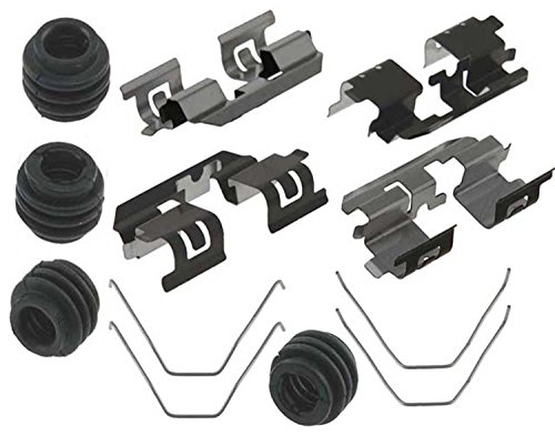 ACDelco 18K1996X Professional Rear Disc Brake Caliper Hardware Kit with Clips, Springs, and Seals