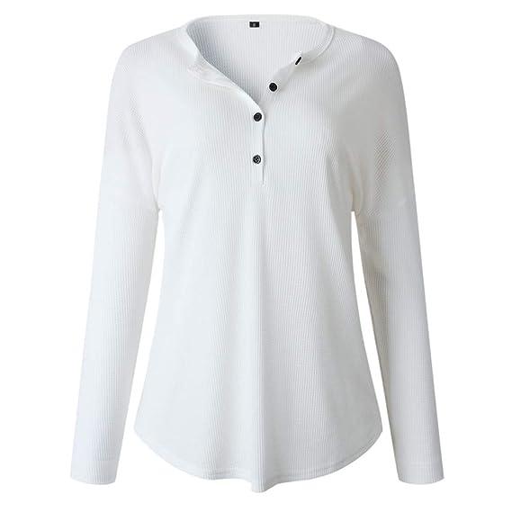 Vectry Rebajas Mujer Camiseta con Manga Larga Camiseta Lisa Camiseta Estampada Sudadera De Moda Sudadera Batata