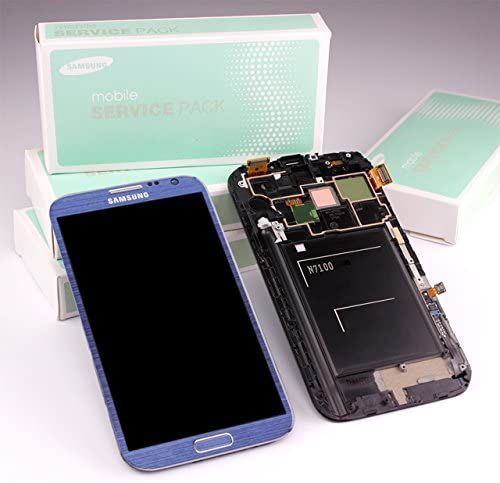 Samsung Galaxy Note 2 GT-N7100 display-módulo azul GH97 ...