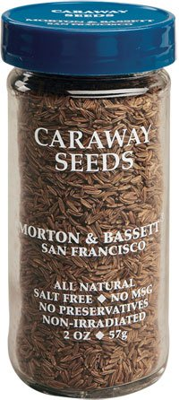 Morton And Bassett 2 Ounce Seasoning - Caraway Seed, Case Of 3