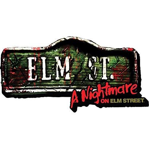 Aquarius Nightmare on Elm Street- Sign Funky Chunky Magnet -