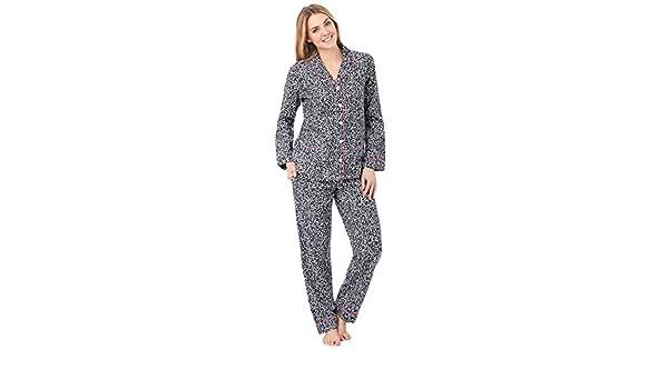 DKNY - Pijama - para mujer negro White Animal X-Small: Amazon.es: Ropa y accesorios