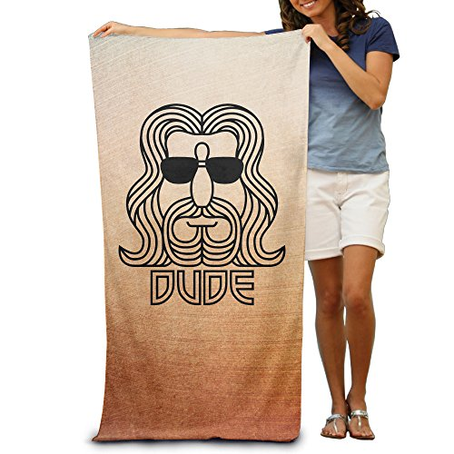 "Big Lebowski Abide 31.5""*51"" Beach Towel"