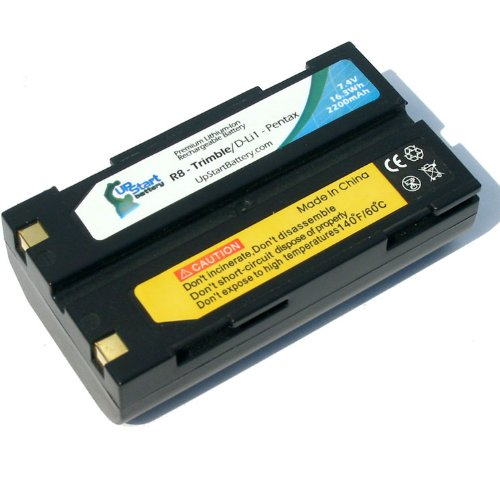 Trimble R8 Battery 2200mAh, 7.4V, Lithium-Ion Replacement for Trimble GPS Battery