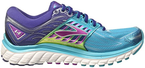 Turquoise 14 Course scubablue purplecactusflower Chaussures Brooks De Glycerin navyblue Femme xwwHTYq