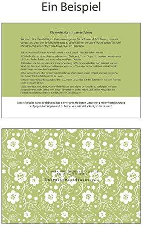 Embracing Mindfulness Achtsamkeit Herausforderung - EIN Jahr der Achtsamkeit - 52 Wochen Achtsamkeitsamkeitsübungen im rustikalen Glas - für Meditation Entspannung Stressabbau