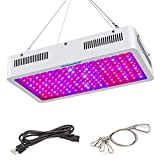 Roleadro Grow Light Red Blue Plant Light for Indoor Full Spectrum Greenhouse Hydroponic Vegetable Succulent Flowering Led Grow Light-1500w