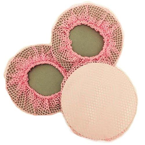 BUN Skins Reusable Bun Hair Nets for Dancers (3 Pack) Pink