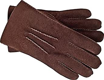 UGG Men's Shearling Glove with Gauge Points-CS