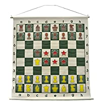 "36"" Demonstration Chess Board - Forest Green"