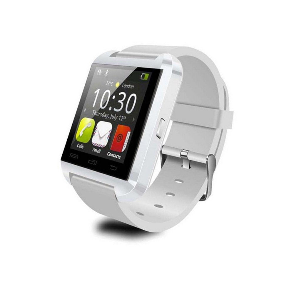 Geeko Reloj Inteligente Smart Watch U8 Blanco: Amazon.es: Electrónica