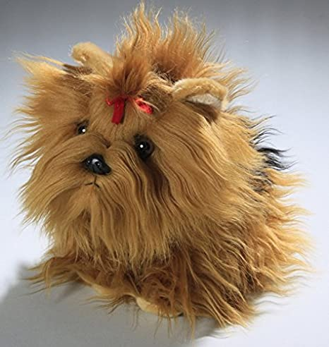 Amazon.com: Carl Dick Yorkshire Terrier Dog Puppy 8.5 inches, 22cm, Plush Toy, Soft Toy, Stuffed Animal 3138: Toys & Games