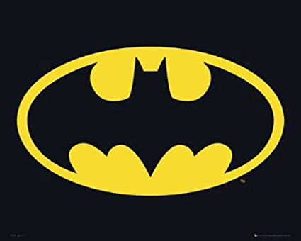 Image Unavailable. Image not available for. Color  Batman Classic Logo  24x36 Poster e2a5bc134d624