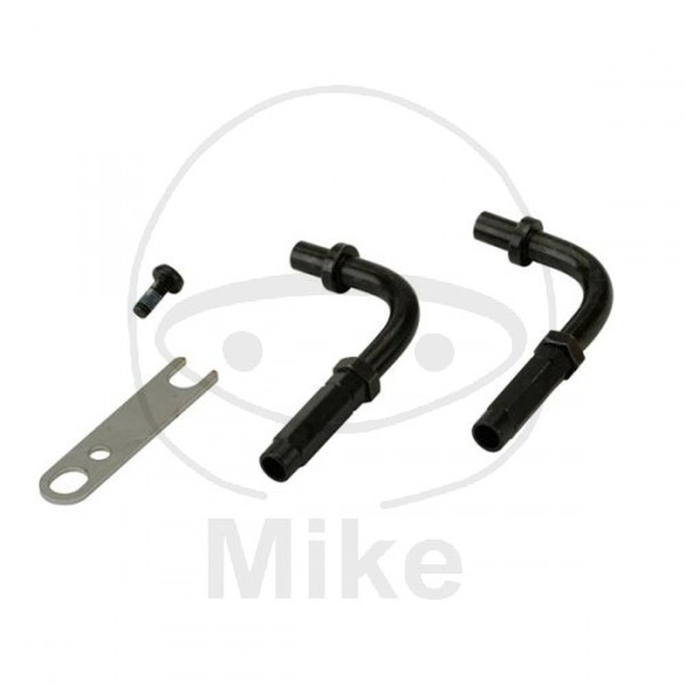 DOMINO Kit pipette guidafilo universali comando gas xm2 moto (Trasmissioni complete) / Kit of universal cable bends for xm2 throttle controls (Complete transmission)