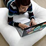 Large Dorm Floor Study Cushion Pillow - 24 x 24 - 6 Inch Deep - Perfect For College