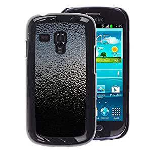 A-type Arte & diseño plástico duro Fundas Cover Cubre Hard Case Cover para Samsung Galaxy S3 MINI 8190 (NOT S3) (Sky Nature Glass Rain Droplets Reflection)