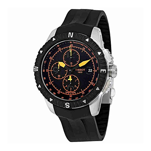 Chronograph Automatic Gents Watch - Tissot Men's T0624271705701 T-Navigator Swiss Automatic Chronograph Watch