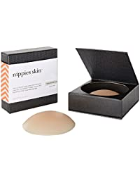 Nippies Skin ORIGINAL Hypoallergenic Nipple Covers pasties. NO ADHESIVE CARAMEL COLOR