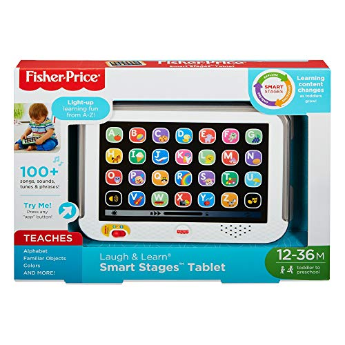 Fisher Price Smart Stages Tablet Grey by Fisher-Price , color/modelo surtido [Version Inglesa]