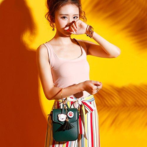 Bag Téléphone White à Messenger Bandoulière Chaîne Sac Sac Summer Les Mignon Pour Mini Sac New Femmes Ryyy Portable nHCwPYxqq