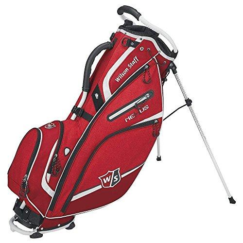 Wilson Staff Nexus III Carry Bag, Staff Red (Nylon Bag Wilson Golf)