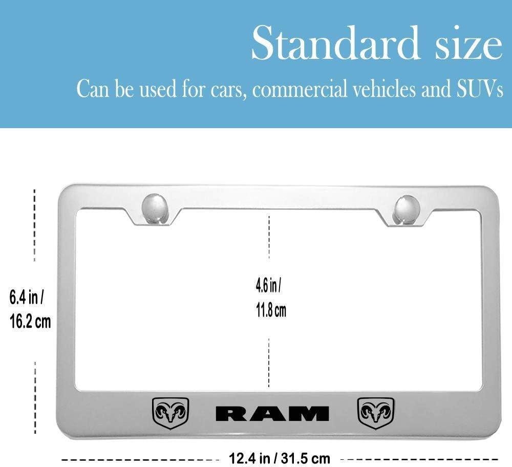 for Mercedes Benz Tag License Plate Carsport 2 Pcs Premium Aluminum Alloy License Plate Frame fit Mercedes Benz