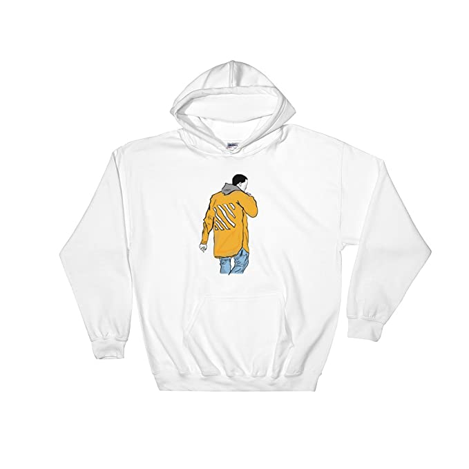 kanye west yeezy in off white white hoodie sweater unisex at Kanye West Smiling kanye west yeezy in off white white hoodie sweater unisex at amazon men s clothing store