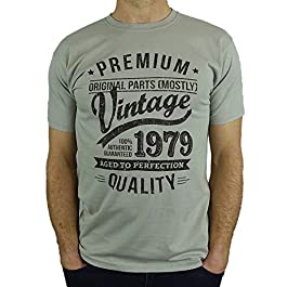 1980 Vintage Year – Aged to Perfection – 40th Birthday Gift/Present Mens T-Shirt