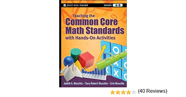 Teaching the Common Core Math Standards with Hands-On Activities ...
