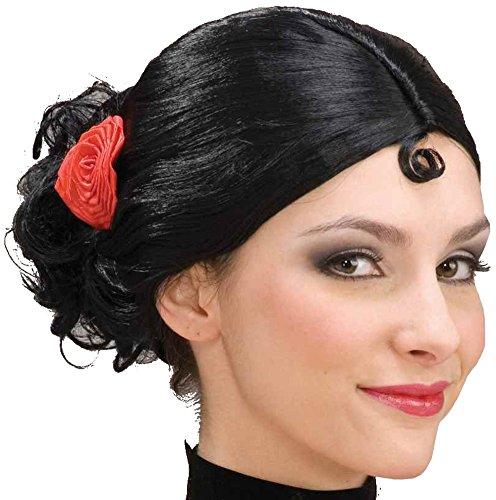 Dance Costumes Spanish - Spanish Senorita Adult Wig