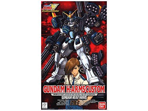 Bandai Hobby EW-04 1/100 High Grade Endless Waltz Custom Gundam Heavyarms Model Kit