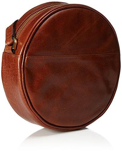 hombro Bag y Round Cognac de Marrón bolsos Shoppers Mujer RepubliQ Evening Royal wt8qXTAx