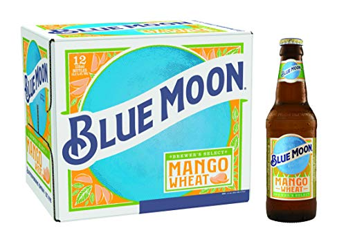 Blue Moon Mango Wheat Beer, 330 ml, Pack of 12
