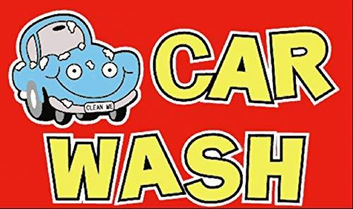 Legs Galore Car Wash Flag Cartoon 5ftx3ft 150cmx90cm
